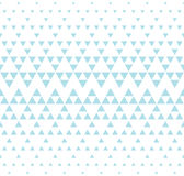 Abstract blue geometric hipster fashion design print halftone triangle pattern background Stock Photos
