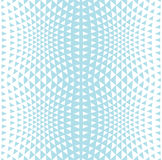 Abstract blue geometric hipster fashion design print halftone triangle pattern Royalty Free Stock Photo