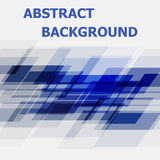 Abstract blue geometric overlapping design background. Stock vector Stock Images