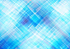 Abstract blue geometric patterns background Stock Images