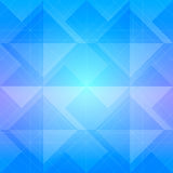 Abstract blue geometric polygonal background with copy space.  Royalty Free Stock Images