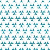 abstract blue geometric triangle deco pattern vector Vector Illustration