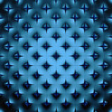 Abstract blue geometrical background. 3D render Stock Images