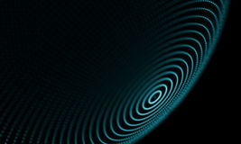 Abstract Blue Geometrical Background . Futuristic technology style. Neon Sign . Futuristic Technology HUD Element. Elegant Abstract background . Big data Stock Photos