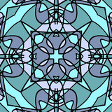 Abstract blue dalle Royalty Free Stock Photo