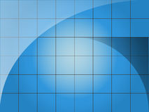 abstract blue gid Royalty Free Stock Photos