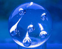 Abstract Blue Globe Royalty Free Stock Image