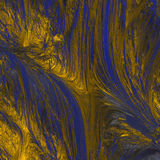 Abstract blue gold texture Stock Photos