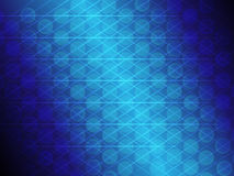 Abstract blue gradient circle and line glowing background. Vector background of abstract  blue gradient circle and line glowing Stock Photography