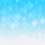 Abstract blue gradient rhombus background Stock Image