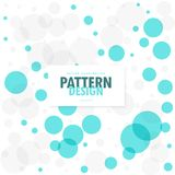 Abstract blue and gray circles background. Vector stock illustration