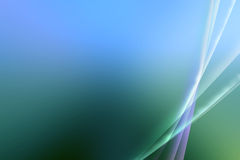 Abstract blue / Green Aurora Effect Background Royalty Free Stock Photography