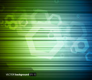 Abstract blue-green background Royalty Free Stock Photos