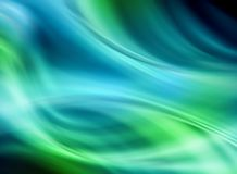 Abstract blue-green background background. Beautiful lines and blur Royalty Free Stock Photography