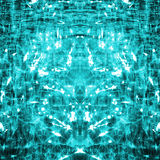 Abstract blue green background Stock Photos