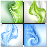 Abstract blue green background Royalty Free Stock Photos