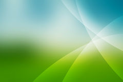 Abstract blue and green background Royalty Free Stock Photos