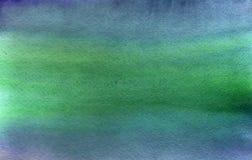 Abstract blue green gradient watercolor background. Handmade artistic aguarelle texture for desktop wallpaper stock photos