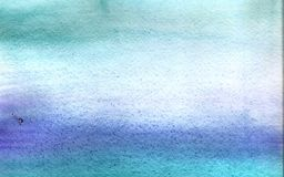 Abstract blue green gradient watercolor background. Handmade artistic aquarelle texture for desktop wallpaper royalty free stock images