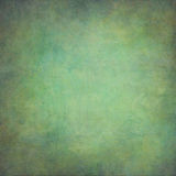 Abstract blue green hand-painted vintage background.  Royalty Free Stock Photography