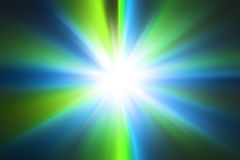 Abstract blue and green radial zoom background. Abstract light blue and green radial zoom background Stock Images
