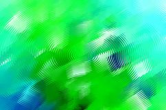 Abstract blue green water splash. Abstract computer drawing in blue, cyan and green colors resembling splash on water surface with concentric circles stock illustration