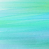 Abstract blue and green watercolor texture Stock Photos