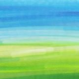 Abstract blue and green watercolor texture Royalty Free Stock Photography