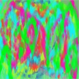 Abstract blue and green and yellow and pink background of dark and light yellow and pink and blue and green spots of paint Stock Image