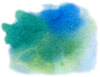 Abstract blue, green, yellow Royalty Free Stock Image