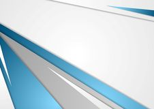 Abstract blue grey corporate background stock illustration