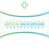 Abstract blue grid medical Royalty Free Stock Photos