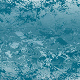 Abstract blue grunge texture Stock Photography