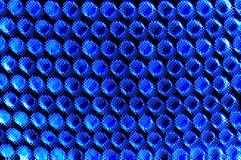 Abstract blue halftone background Royalty Free Stock Photos
