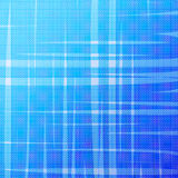 Abstract blue halftone background with uneven stripes Stock Images