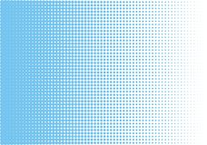 Abstract blue halftone pattern. Futuristic panel. Grunge dotted backdrop with circles, dots, point. stock illustration