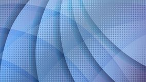 Abstract blue halftone technology background royalty free illustration