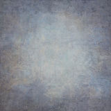 Abstract blue hand-painted vintage background Stock Image