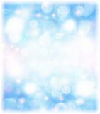 Abstract blue holiday background Royalty Free Stock Photos
