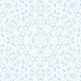Abstract blue ice pattern symmetry. illustration. Abstract blue ice pattern symmetry background design. illustration stock illustration