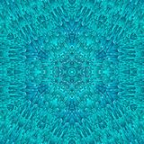 Abstract blue ice pattern symmetry. seamless. Abstract blue ice pattern symmetry background design. seamless royalty free stock photography