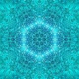 Abstract blue ice pattern symmetry. texture. Abstract blue ice pattern symmetry background design. texture stock illustration