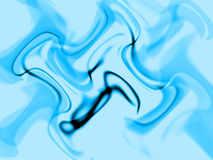 Abstract blue illusion Stock Photo