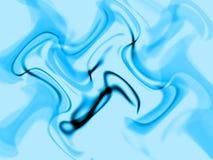 Abstract blue illusion Stock Photo
