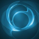 Abstract blue illustration. Technology background Stock Image