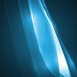 Abstract blue illustration. Technology background Royalty Free Stock Image