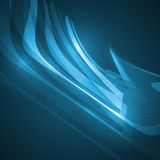 Abstract blue illustration Royalty Free Stock Image