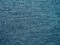 Abstract blue Jeans fabric texture background Stock Image