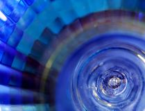 Abstract of blue lamp Royalty Free Stock Photos
