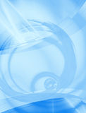 Abstract Blue Layout Stock Photography